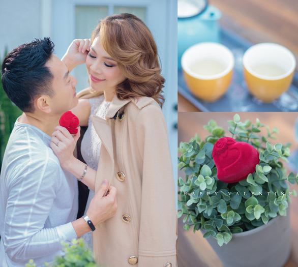Thanh Thảo tình tứ cùng bạn đời trong album Valentine - Ảnh 1.