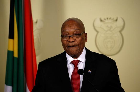 Tổng thống Nam Phi buộc phải từ chức trước sức ép của đảng cầm quyền - Ảnh 1.