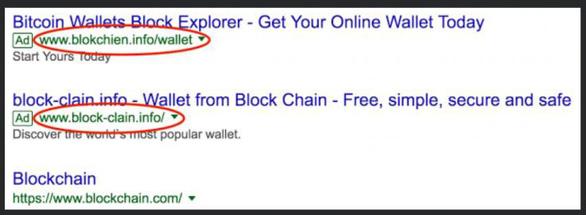 Khai thác quảng cáo của Google Adword để đánh cắp Bitcoin - Ảnh 1.