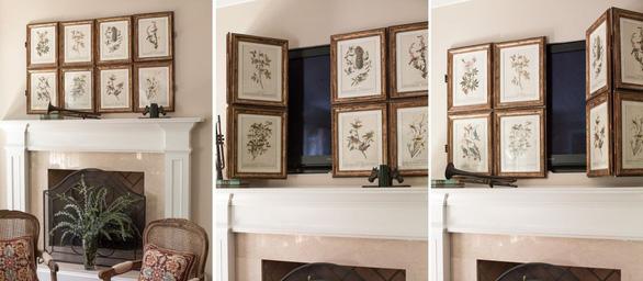 10 kiểu trang trí tivi để phòng khách đẹp hơn - Ảnh 3.