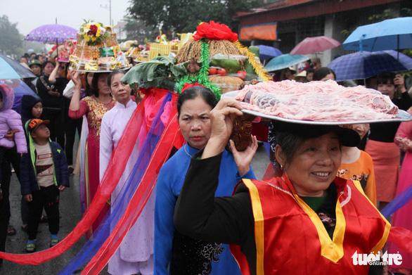 Độc đáo lễ hội cầu ngư - rước cá sủ vàng tại Hải Phòng - Ảnh 5.