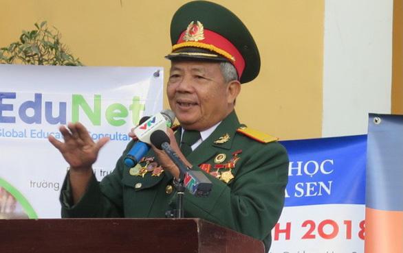 Buổi chào cờ đặc biệt với nhân chứng Biệt động Sài Gòn - Ảnh 1.