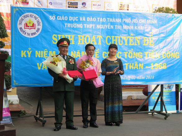 Buổi chào cờ đặc biệt với nhân chứng Biệt động Sài Gòn - Ảnh 4.