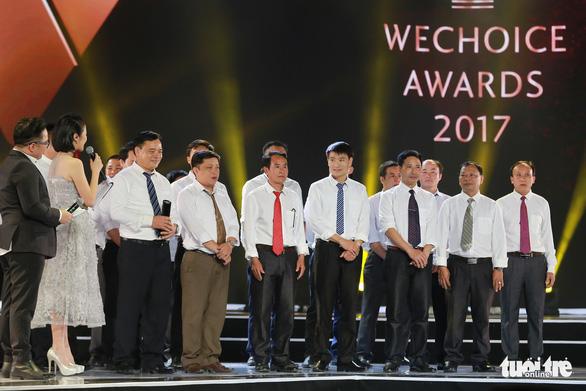 U23 Việt Nam bất ngờ nhận giải WeChoice 2017 - Ảnh 4.