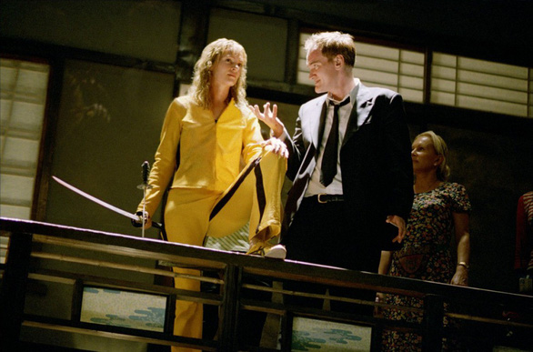 Uma Thurman bị đạo diễn Tarantino bạo hành trên phim trường - Ảnh 1.
