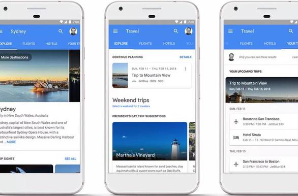 Google giúp bạn đặt phòng và chuyến bay trên kết quả tìm kiếm - Ảnh 1.