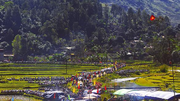 Lễ hóa vàng của người Giáy ở vùng cao - Ảnh 3.