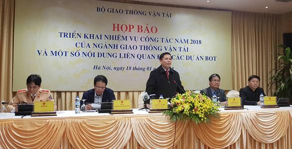 Bộ trưởng Nguyễn Văn Thể: Ký hợp đồng BOT Cai Lậy tôi không tư túi - Ảnh 3.