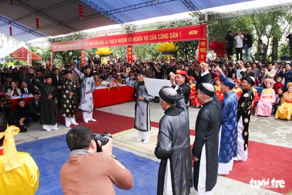 Hội Minh thề được công nhận là di sản quốc gia - Ảnh 6.