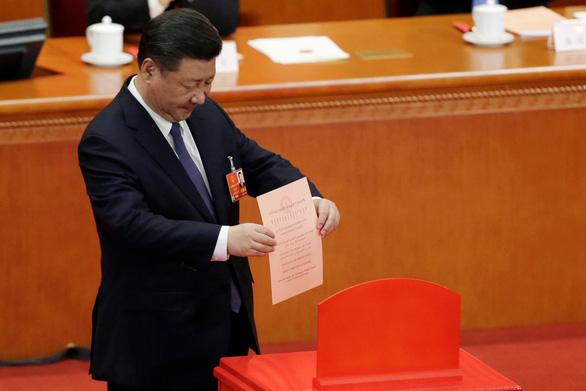 Quốc hội Trung Quốc nhất trí sửa hiến pháp, mở đường cho ông Tập - Ảnh 1.