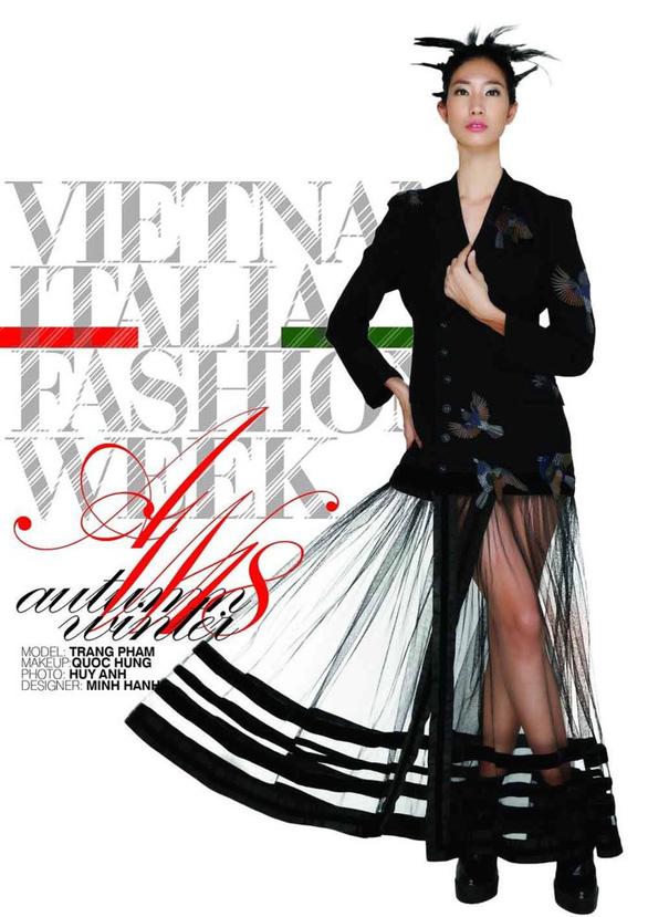Ngắm thời trang Việt - Ý và xem triển lãm ươm tơ dệt lụa - Ảnh 3.