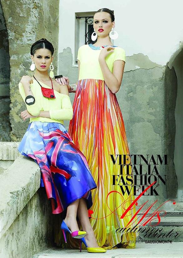 Ngắm thời trang Việt - Ý và xem triển lãm ươm tơ dệt lụa - Ảnh 6.