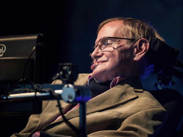 Stephen Hawking, người khiêu vũ với... xe lăn - Ảnh 3.