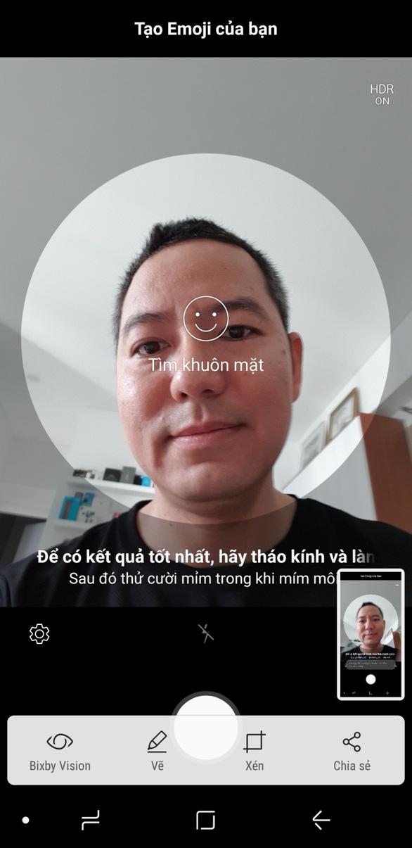 Trào lưu AR Emoji và hướng dẫn cách tạo avatar vui nhộn trên Galaxy S9 - Ảnh 4.