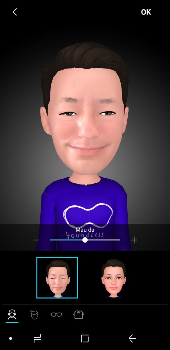 Trào lưu AR Emoji và hướng dẫn cách tạo avatar vui nhộn trên Galaxy S9 - Ảnh 6.