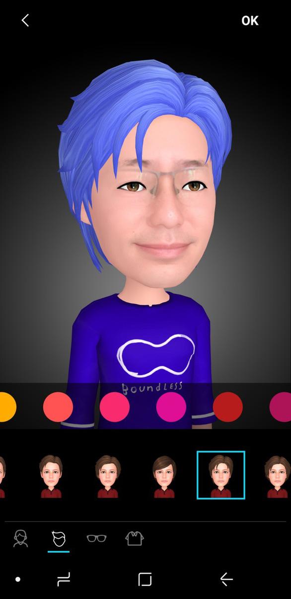 Trào lưu AR Emoji và hướng dẫn cách tạo avatar vui nhộn trên Galaxy S9 - Ảnh 7.