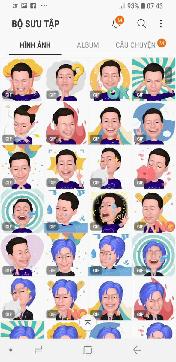 Trào lưu AR Emoji và hướng dẫn cách tạo avatar vui nhộn trên Galaxy S9 - Ảnh 9.