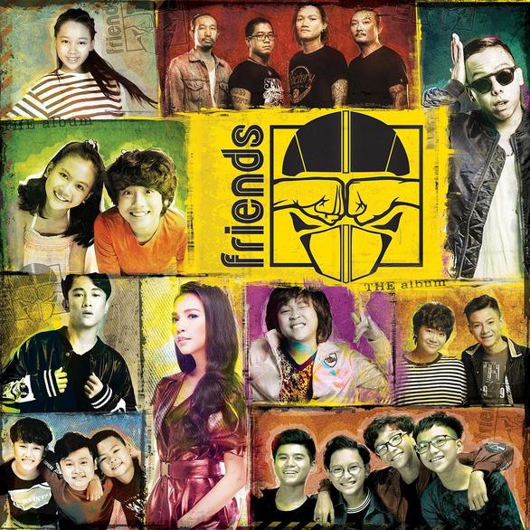 Quần xì, bar club vào album nhạc Friends Tám Mười Sáu - Ảnh 1.