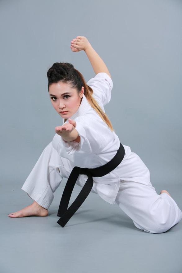 Nữ võ sĩ Gemma Nguyễn: Học võ vì mê Thần điêu đại hiệp - Ảnh 1.