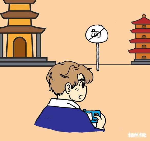 Hí họa: những điều nên tránh khi đi lễ hội, chùa chiền - Ảnh 4.