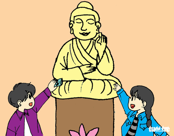 Hí họa: những điều nên tránh khi đi lễ hội, chùa chiền - Ảnh 17.