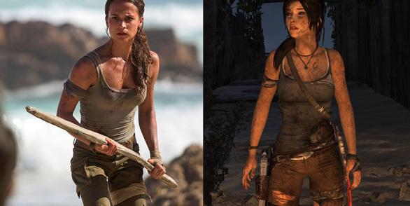 Quên Angelina Jolie đi, Alicia chính là nàng Lara được mong chờ - Ảnh 9.