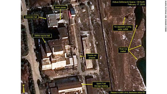 Lò phản ứng hạt nhân Triều Tiên lại rục rịch hoạt động? - Ảnh 1.