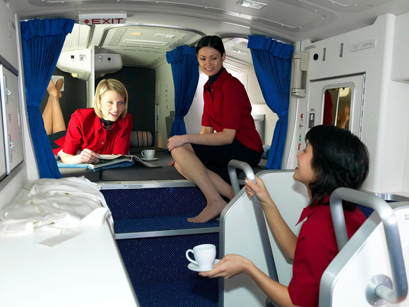 Căn phòng bí mật trên máy bay - Ảnh 2.