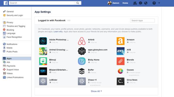 Cách kiểm tra và xóa ứng dụng truy cập dữ liệu Facebook của bạn - Ảnh 2.