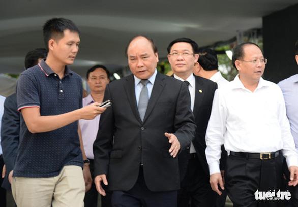 Thủ tướng Nguyễn Xuân Phúc đến viếng cố Thủ tướng Phan Văn Khải - Ảnh 4.