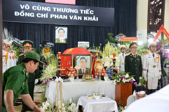 Lịch trình di quan linh cữu nguyên Thủ tướng Phan Văn Khải - Ảnh 2.