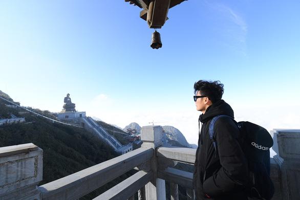 Quần thể tâm linh trên đỉnh Fansipan: Đường lên cõi Phật mây bay - Ảnh 4.