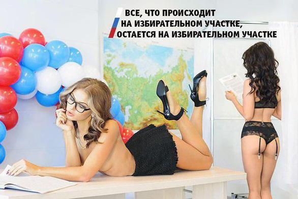 Vận động tranh cử kiểu thả rông ở Nga - Ảnh 2.
