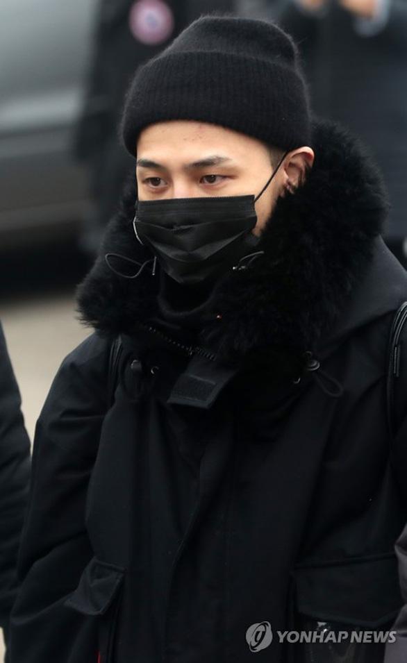 G-Dragon - BigBang và những hình ảnh đáng nhớ ngày nhập ngũ - Ảnh 5.
