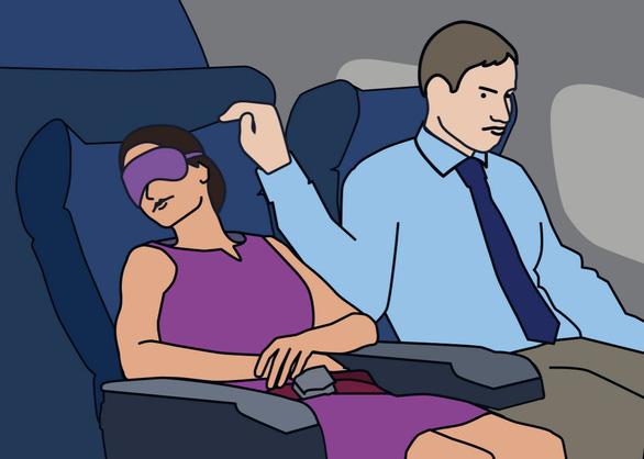 4 điều làm ngay khi bị quấy rối tình dục trên máy bay - Ảnh 2.