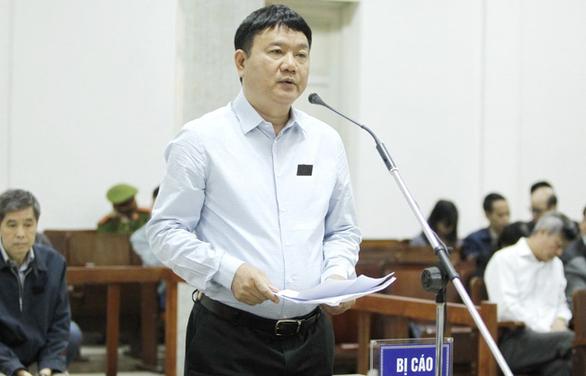 Ông Đinh La Thăng bào chữa: Tôi không tư lợi, tư túi gì - Ảnh 1.