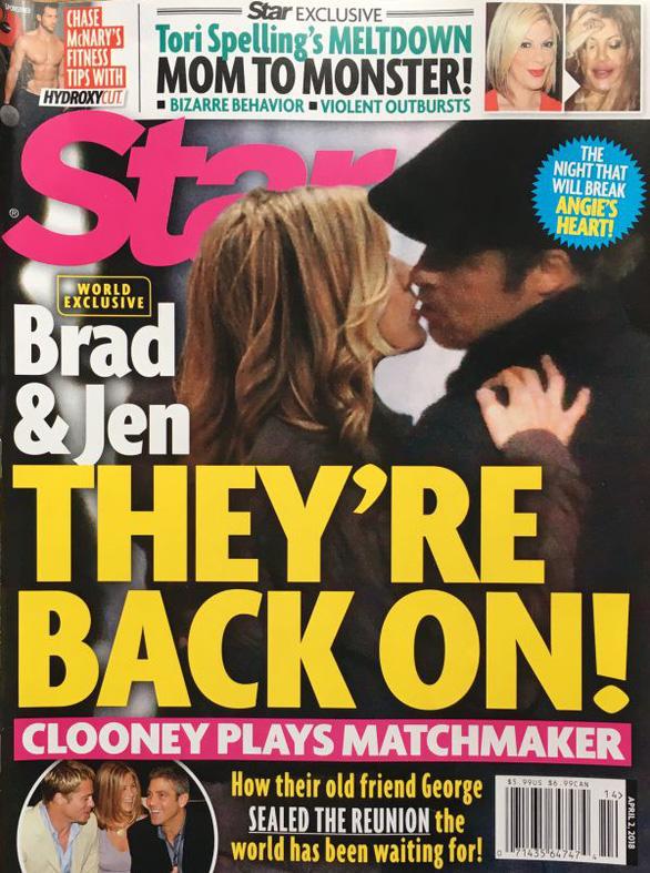 Brad Pitt và Jennifer Aniston tái hợp: trò vịt của truyền thông - Ảnh 3.