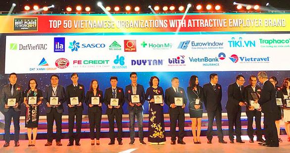 SASCO đạt top 50 doanh nghiệp Việt nhà tuyển dụng hấp dẫn - Ảnh 1.