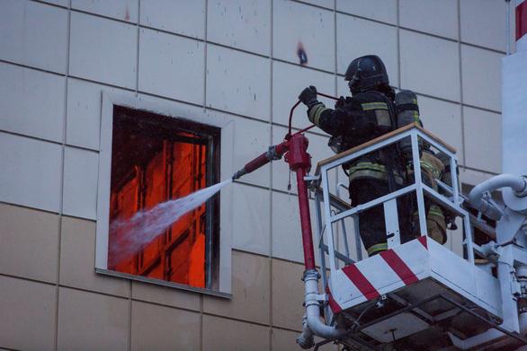 Cháy trung tâm thương mại ở Nga: Không có nạn nhân là người Việt Nam - Ảnh 1.