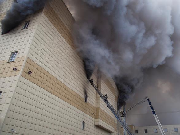 Cháy trung tâm thương mại ở Nga: Không có nạn nhân là người Việt Nam - Ảnh 3.