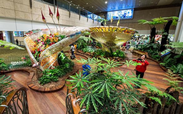 Bên trong sân bay tốt nhất thế giới Changi - Ảnh 2.