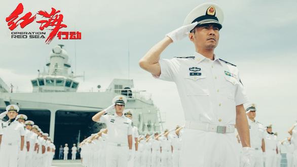 Phim Điệp vụ Biển Đỏ được Hải quân Trung Quốc tích cực ủng hộ? - Ảnh 1.