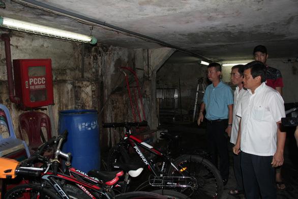 Sau vụ Carina: ông Đoàn Ngọc Hải tổng kiểm tra các chung cư quận 1 - Ảnh 4.