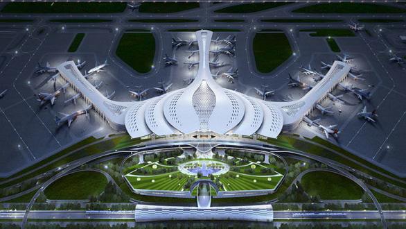 Chọn thiết kế hoa sen cho sân bay Long Thành - Ảnh 1.