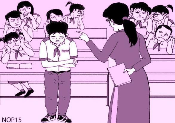 Khi cô giáo im lặng, cả lớp ở đâu, làm gì? - Ảnh 1.
