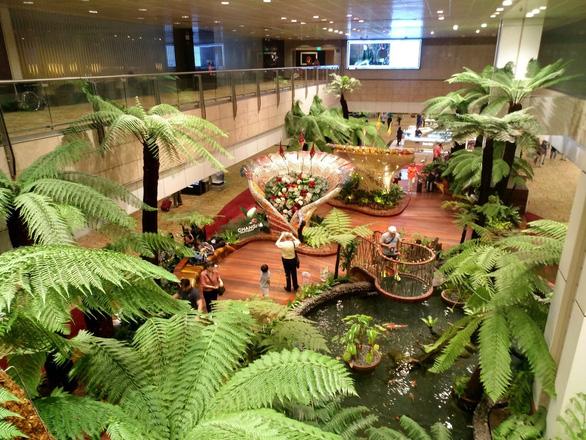 Bên trong sân bay tốt nhất thế giới Changi - Ảnh 4.