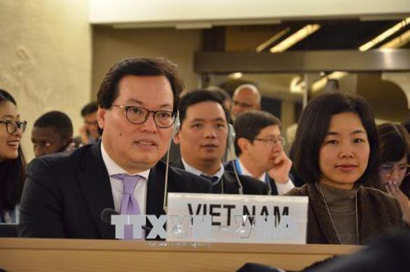 Việt Nam phản đối mạnh mẽ thông cáo của chuyên gia nhân quyền LHQ - Ảnh 1.