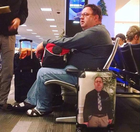 Loạt ảnh ngộ nghĩnh về vali du lịch - Ảnh 3.