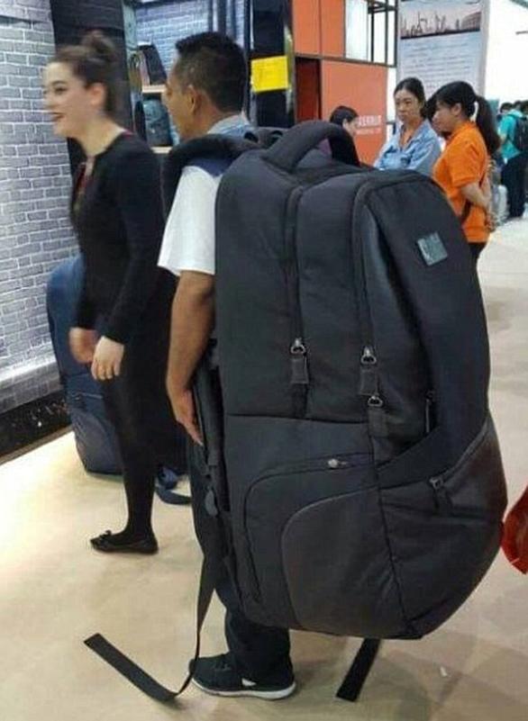 Loạt ảnh ngộ nghĩnh về vali du lịch - Ảnh 7.