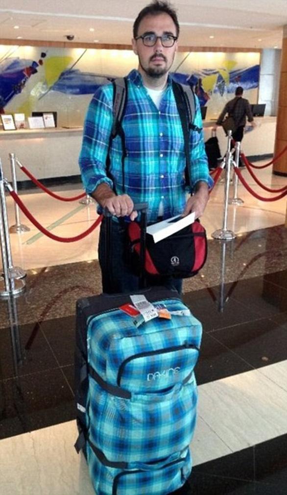 Loạt ảnh ngộ nghĩnh về vali du lịch - Ảnh 8.